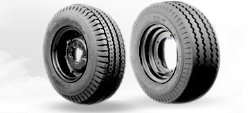 Three Wheeler Tires from Salsons Impex Pvt. Ltd.
