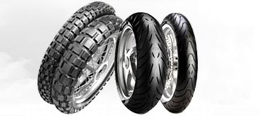 Two Wheeler Tires from Salsons Impex Pvt. Ltd.